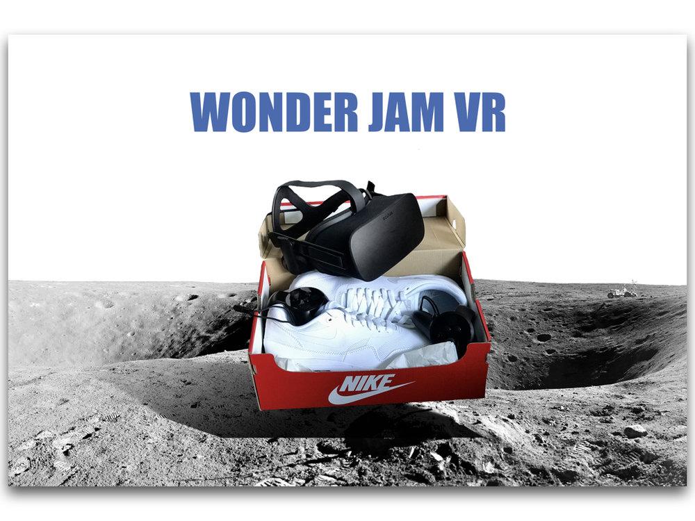Wonder Jam VR - Immersive Brand Experience