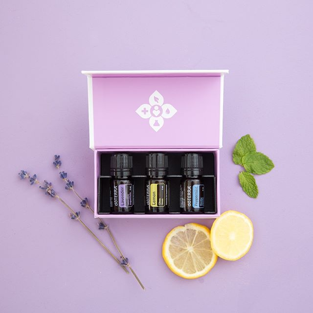 Beginners Trio is a beautiful and simple first step on your journey with essential oils. It includes a trio of Lavender, Lemon, and Peppermint, three of our most popular oils. They will provide you and your family a compelling experience with the life-enhancing properties of therapeutic-grade essential oils.