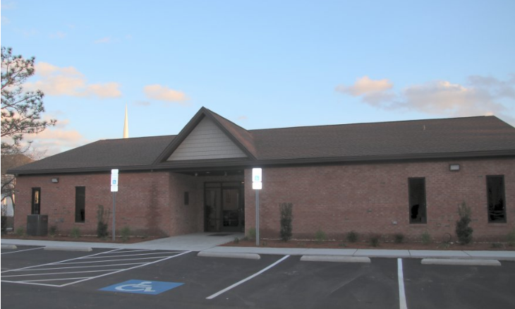 The newly-expanded Fair Bluff Town Hall/Police Department.