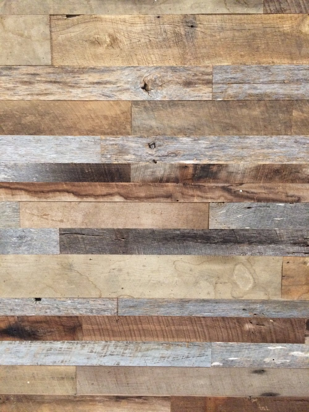 Aged Gray & Brown Barn Wood