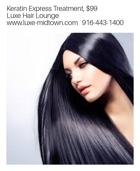 keratin treatment luxe hair lounge deal sacramento special selene
