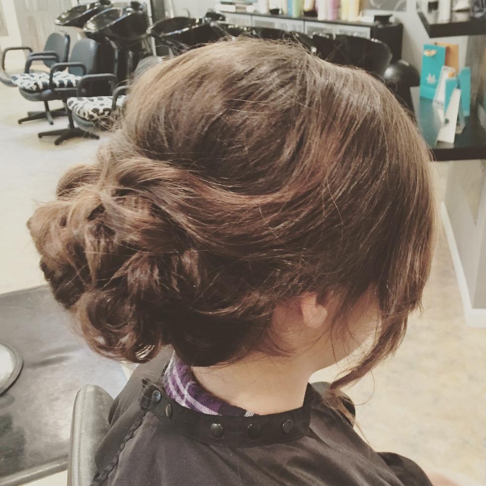 sacramento bridal updo makeup hair upstyle salon luxe