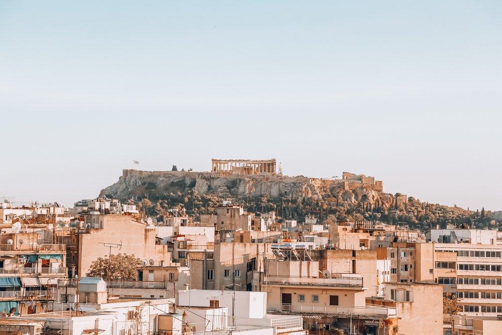 Acciones en Atenas