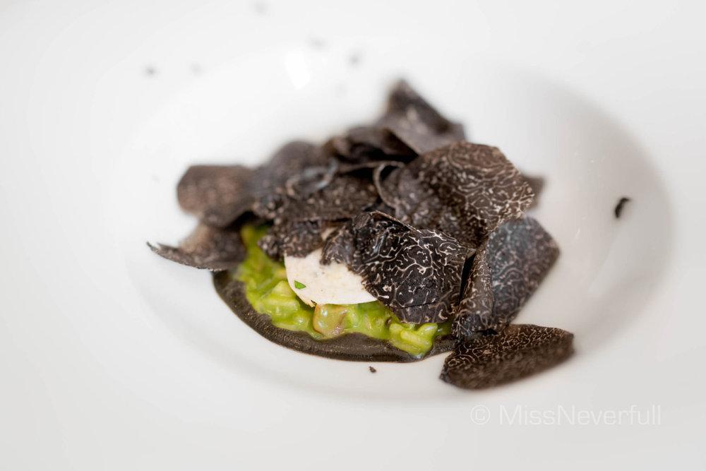 Mushroom Risotto (HK$520)