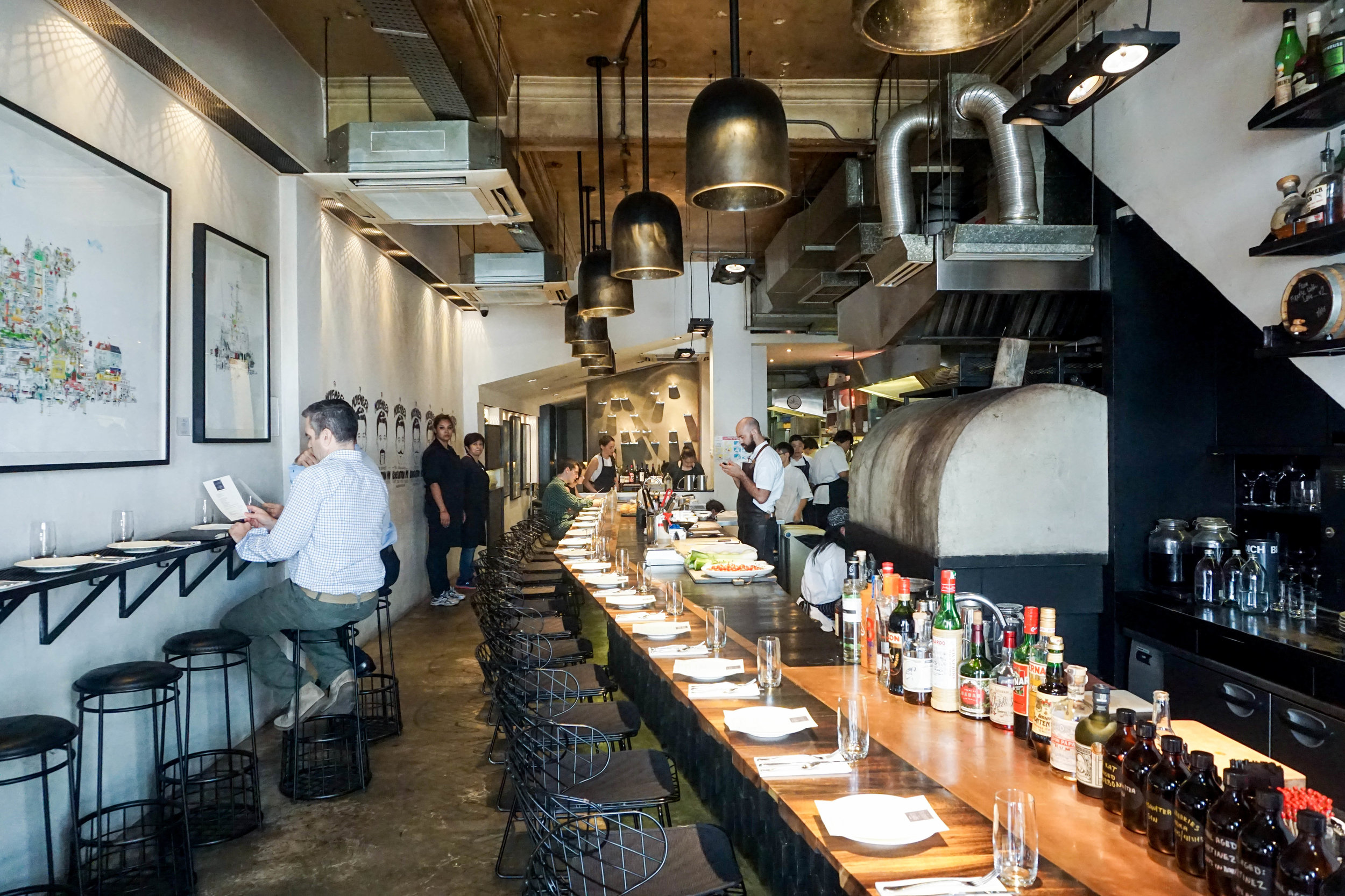 Burnt Ends, Singapore- No.30 Asia's Best 50 Restaurants 2015