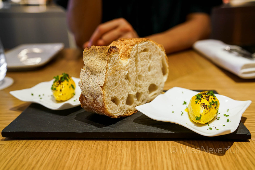 Bread and butter ($8)