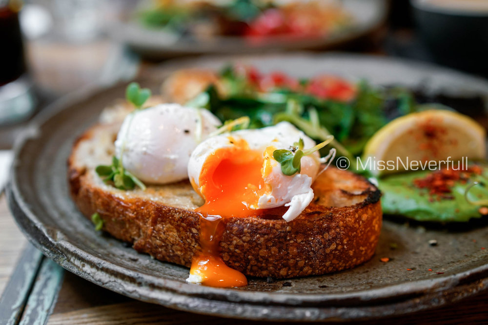 Veggie Wonderland (with poached eggs)
