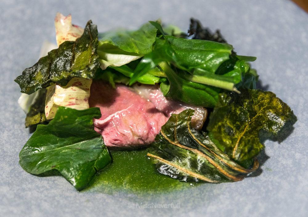 6. Havervadgard lamb & bitter greens