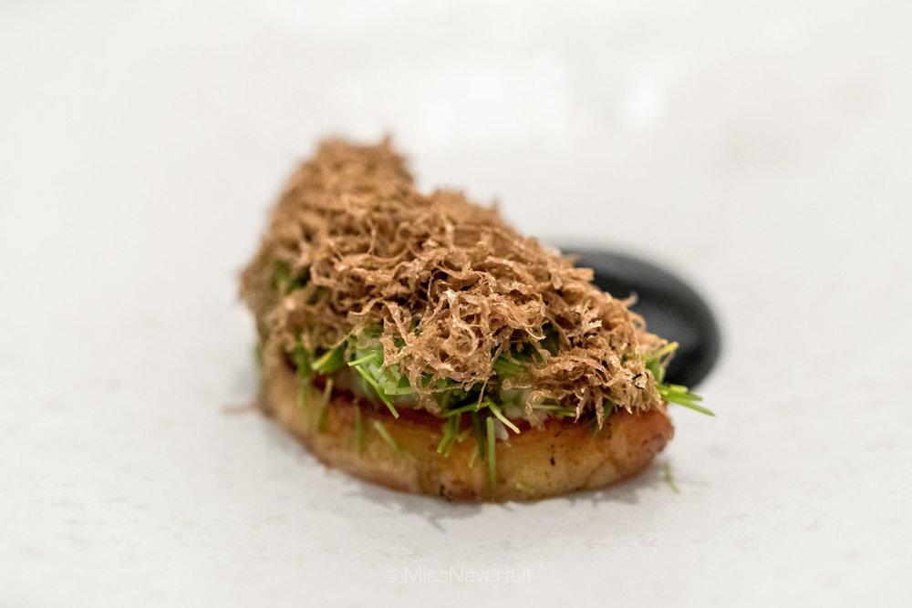 4. Celeriac, spruce, truffle and karljohan mushroom