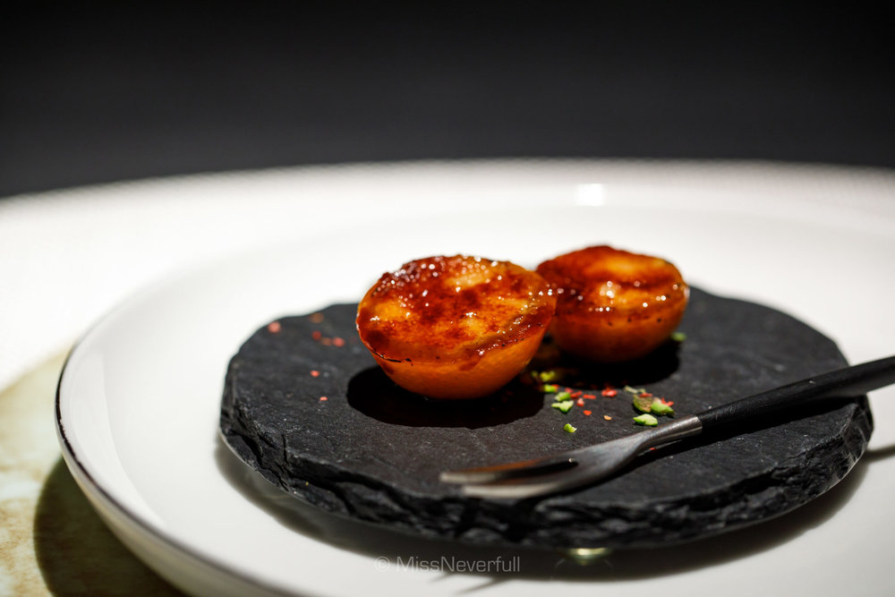 1. Kumquat & foie gras (金柑 フォアグラ)