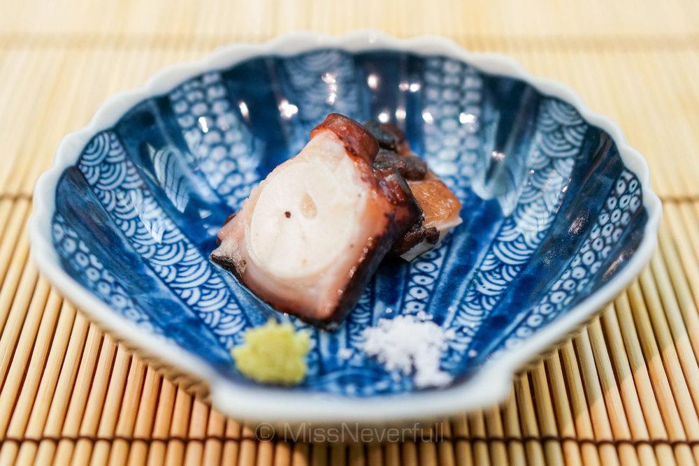 煮蛸 | Cooked Tako