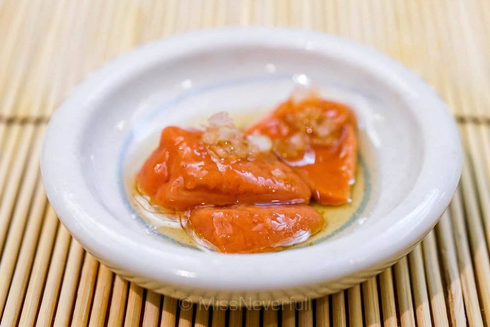 帆立の精巣 | Hotate clam's roe