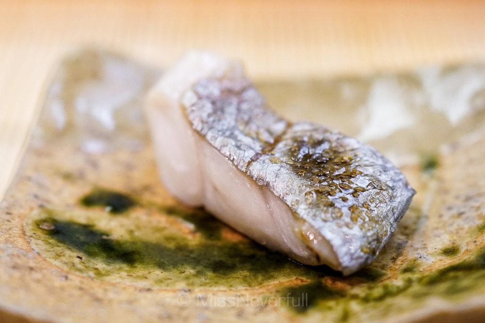 太刀魚の焼き物 | Grilled Tachigo fish