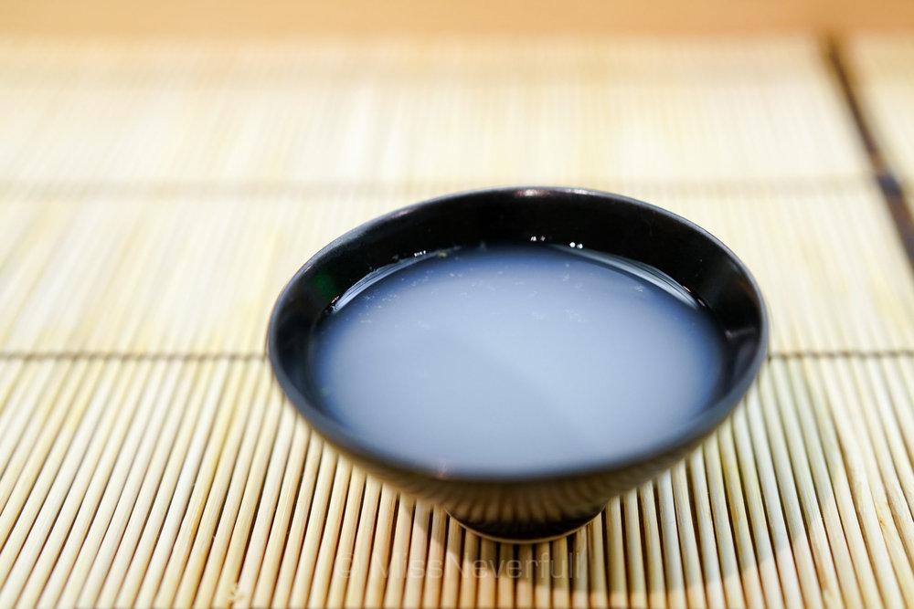 しじみのお椀 | Shijimi clam soup
