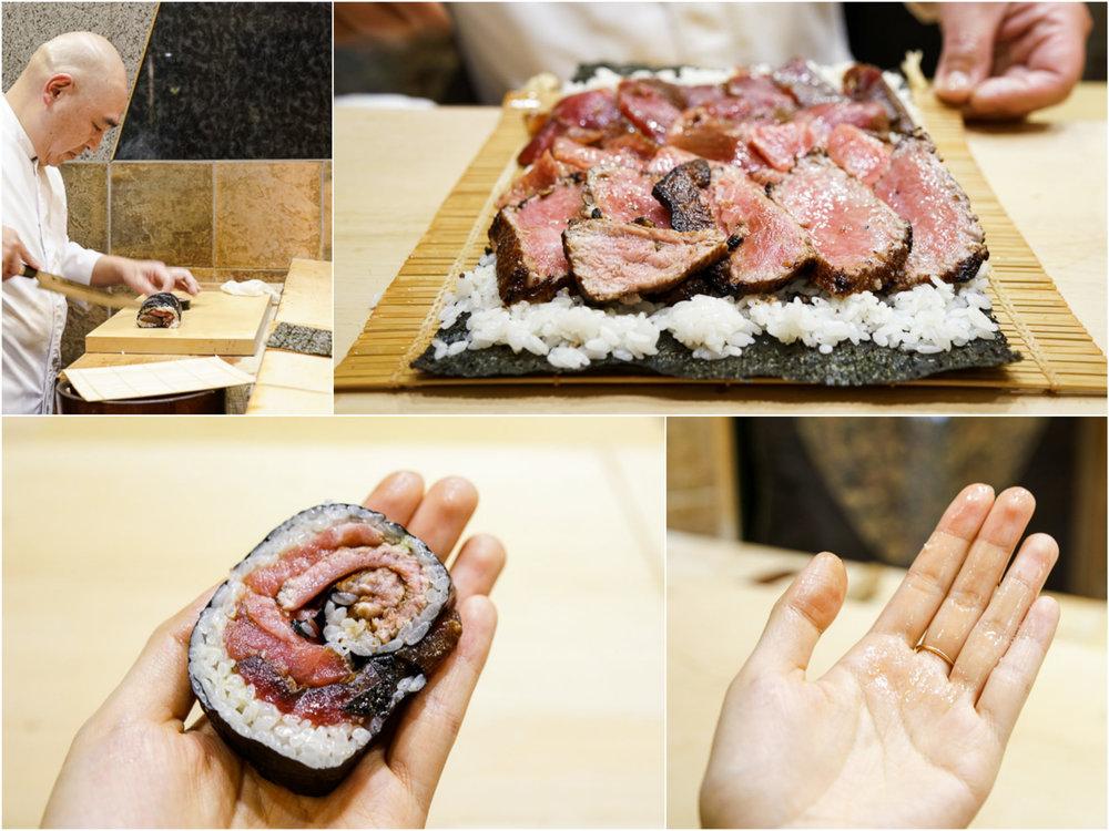 16. 大きな鉄火巻き | Huge Tekka-maki