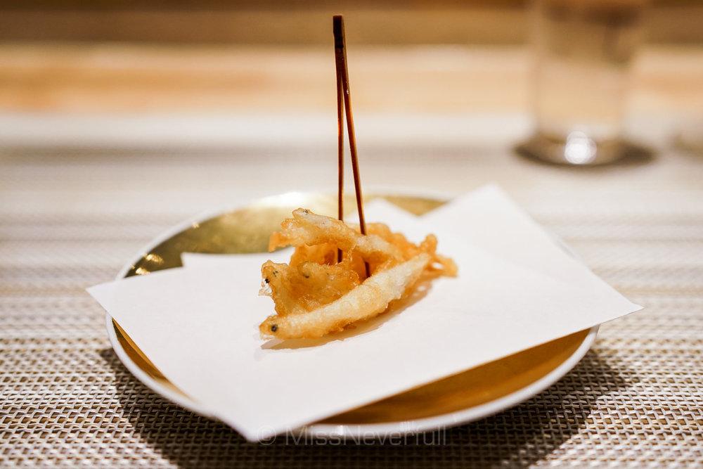 White fish tempura