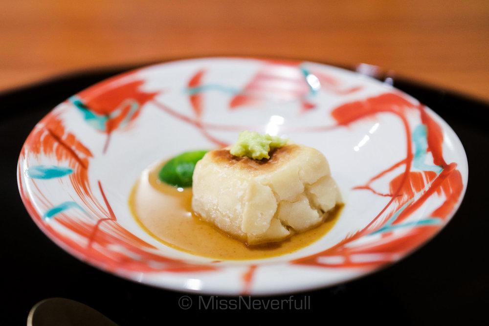 2. Goma-Tofu (Sesame Tofu)