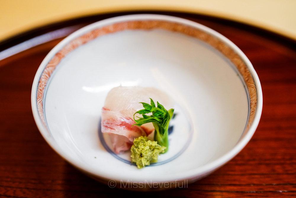 Tai sashimi