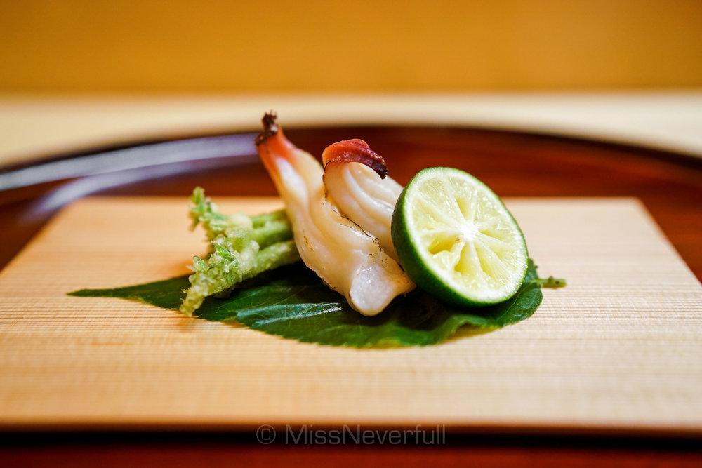 7.焼きミル貝 | Grilled Mirugai