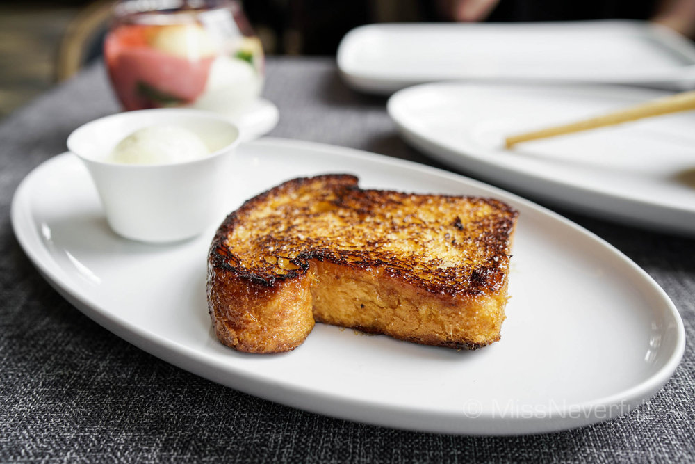 Real French toast  法式吐司 (RMB 80)