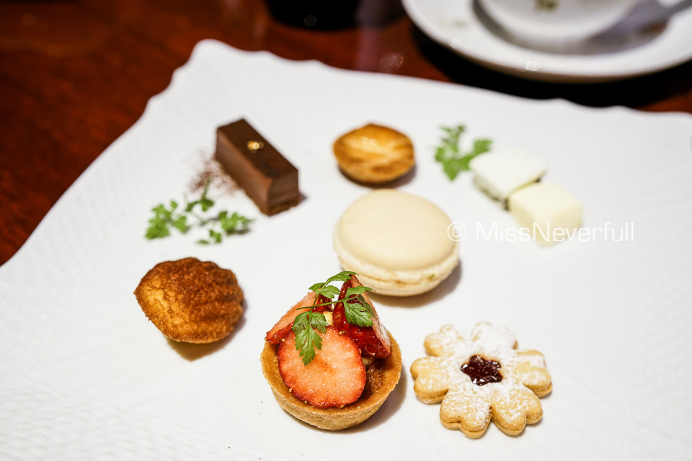 Petit Fours & Coffee or tea