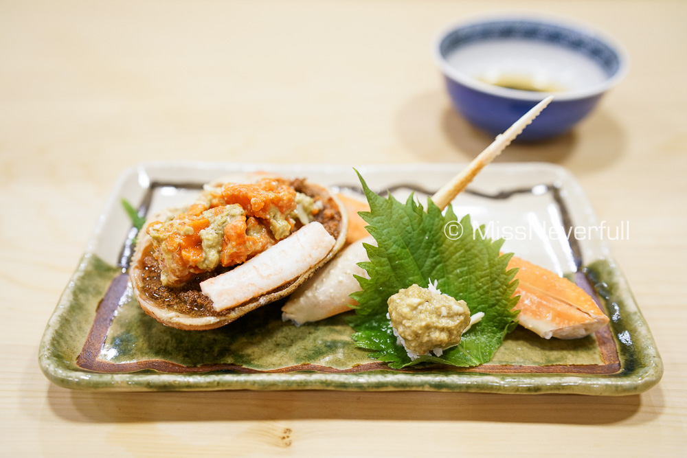 津居山の松葉蟹 | Matsuba crab from Tsuiyama