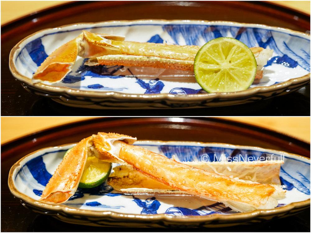 2.焼き香箱蟹 | Grilled Koubako-seiko Crab