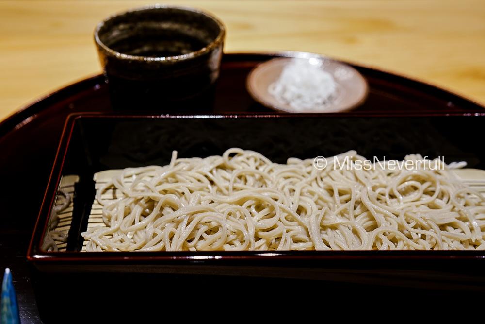 十割そば | Handmade cold soba (100% buckwheat)