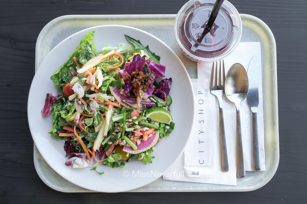 Salad + 2 Deli Plate