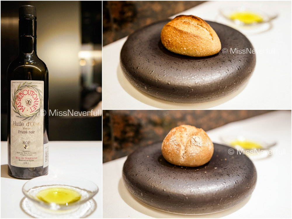 Breads and olive oil