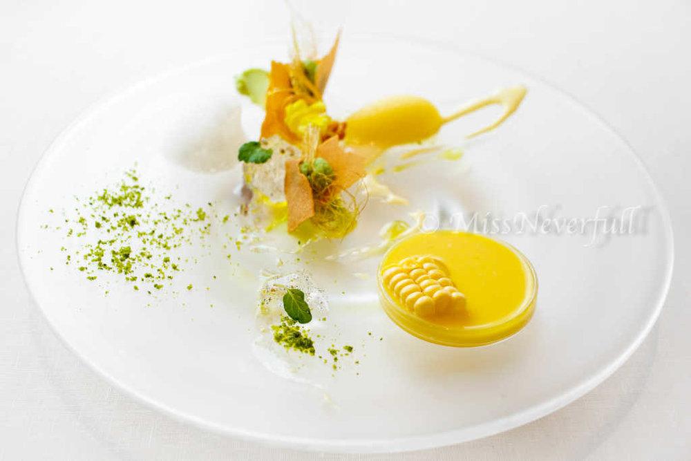 Dessert: Hokkaido Corn