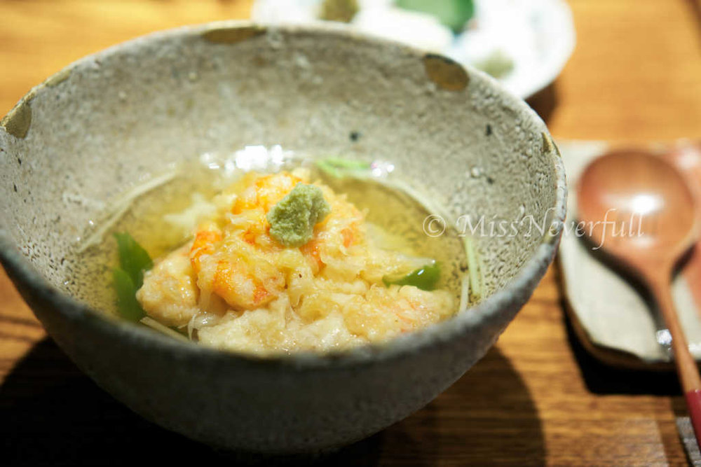 Tencha rice with pickles
