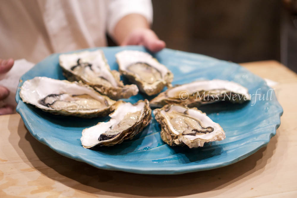 3. Kaki (rock oysters)
