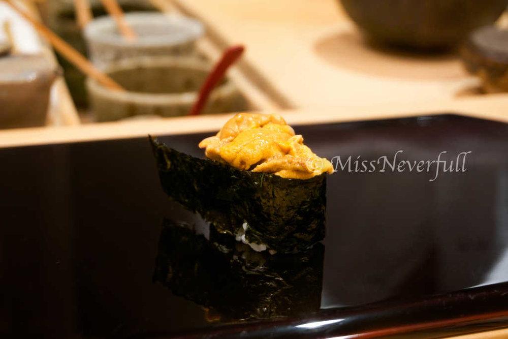 14. Uni 雲丹 (Sea Urchin)