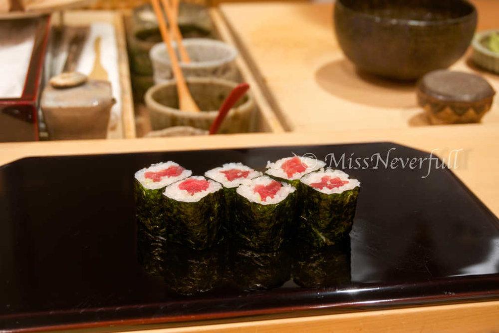 鐵火卷 Tekka Maki ( Tuna roll)