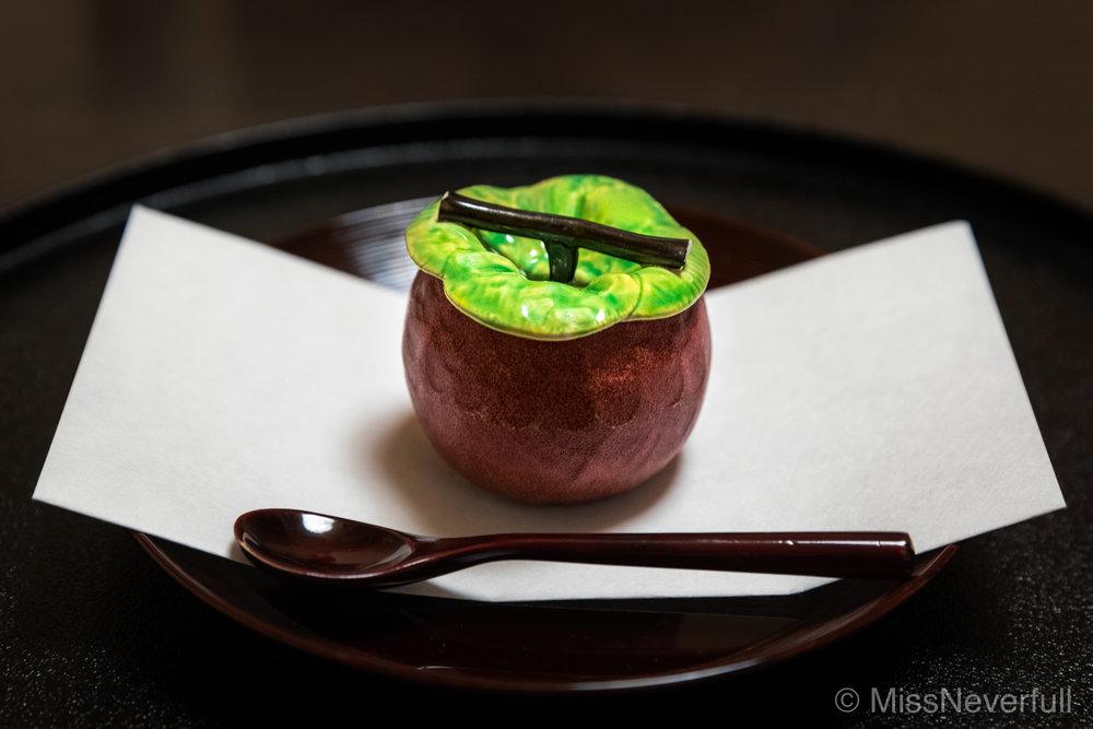 1. Fugu shirako chawanmushi