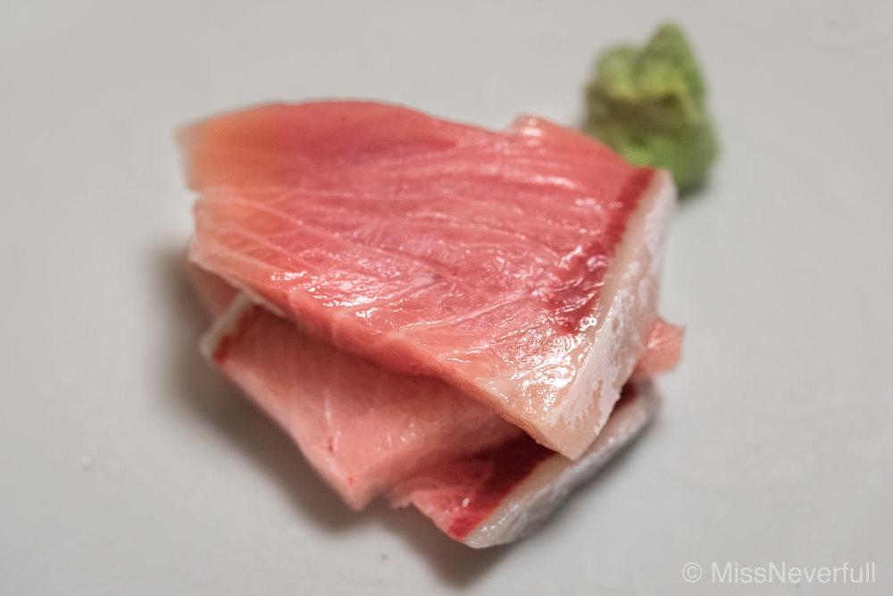 4. Buri sashimi
