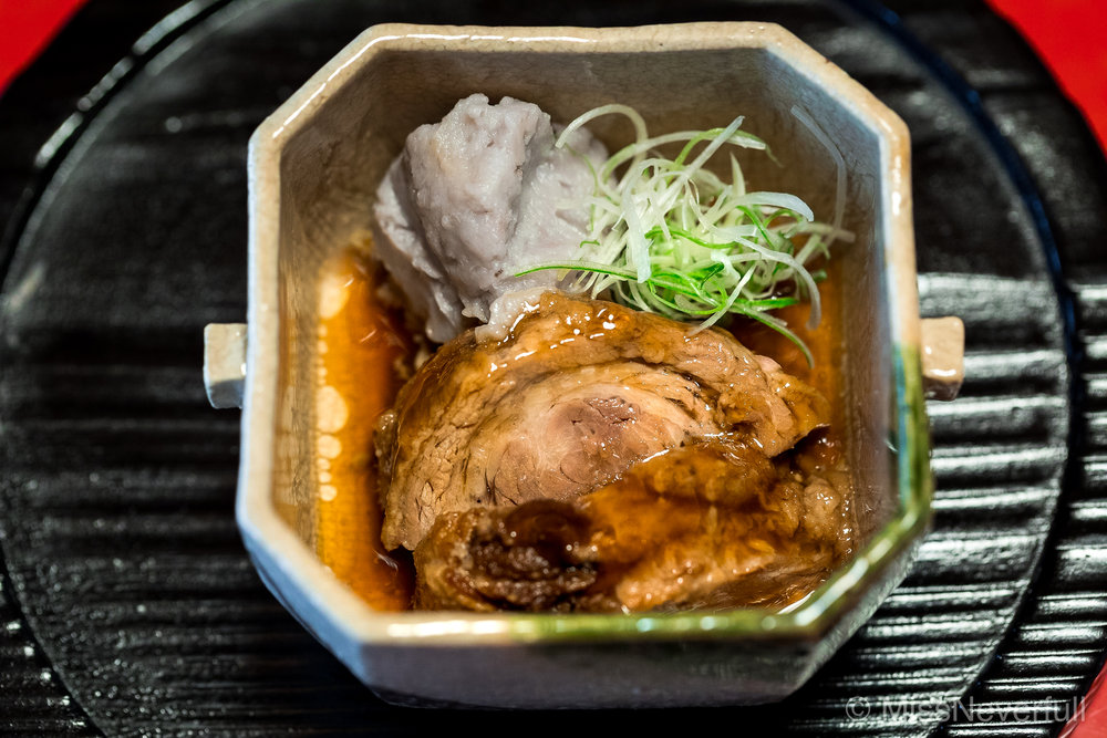 4. Simmered wild boar