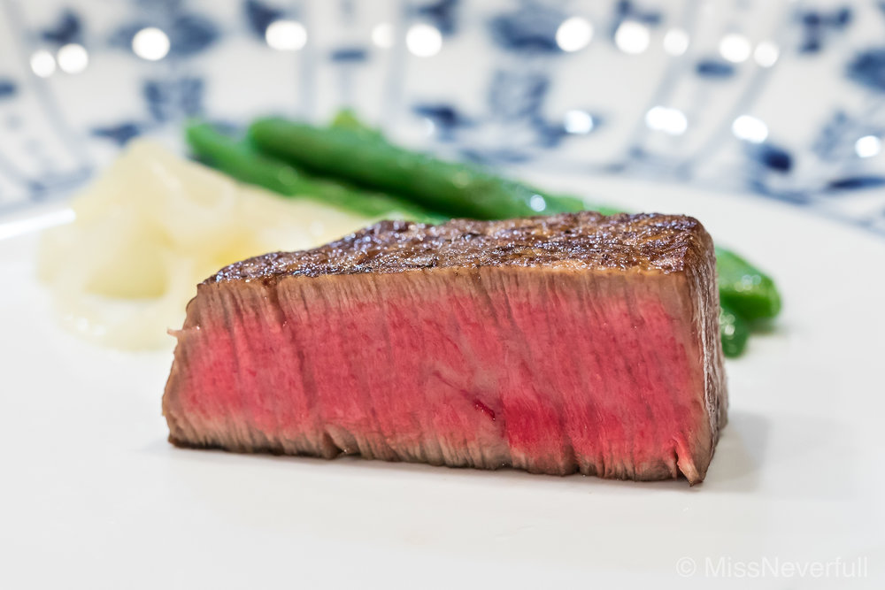 6. Matsusaka beef steak (50g)