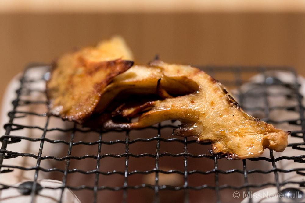 7. Grilled Maitake mushroom