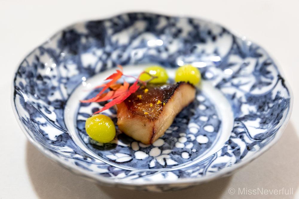 8. Grilled Buri fish