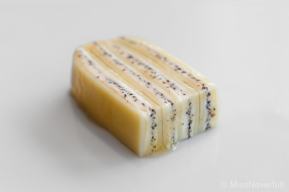 7. Cheese: black truffle cheese with shio (salt)