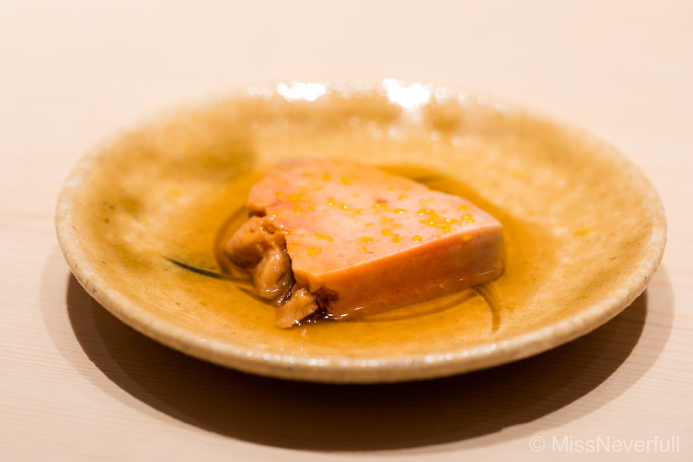 Ostumami 6: Ankimo (monkfish liver) - my favorite ankimo appetizer
