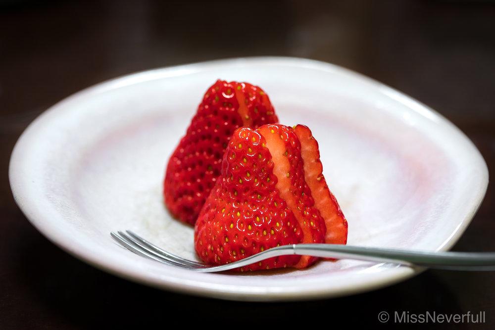 デザート Dessert: Strawberry