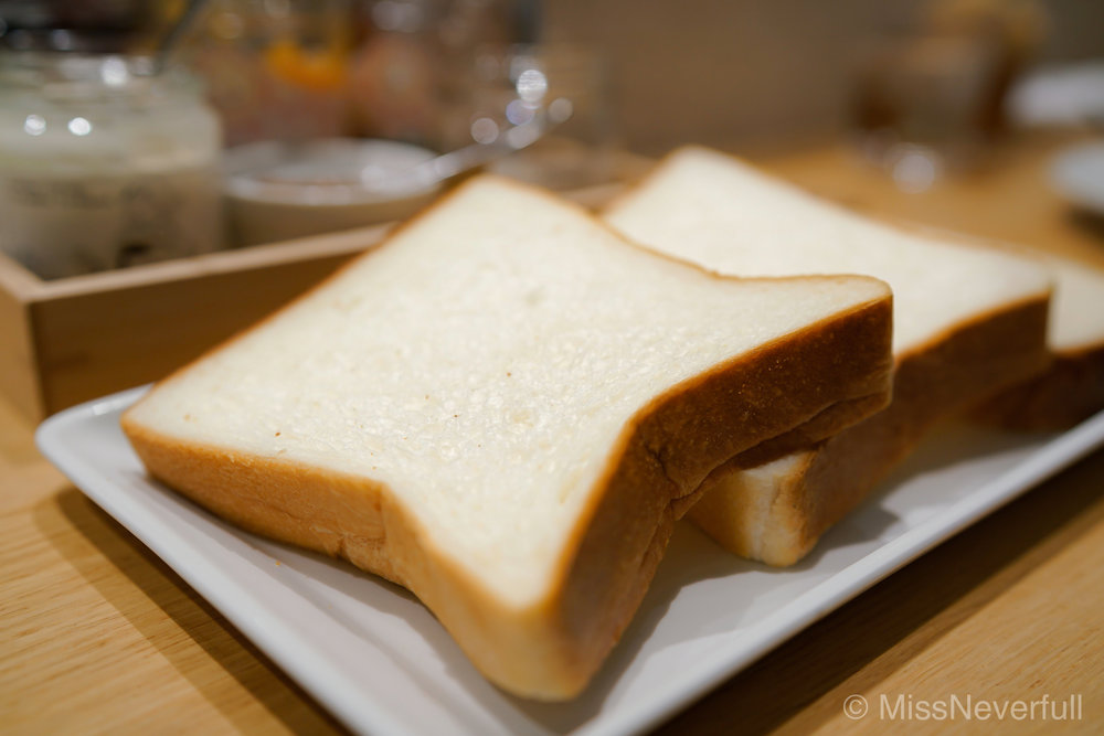 Jam Set with 3 kinds of toasts | ジャムセット(食パン3種) | (1,400 Yen)
