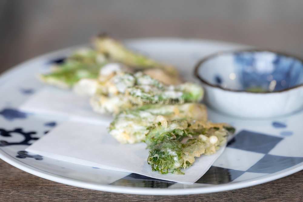 3. Mountain vegetable tempura