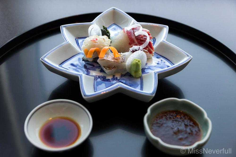 3. 鯛、穴子、太刀魚| Tai, Anago, Tachiuo