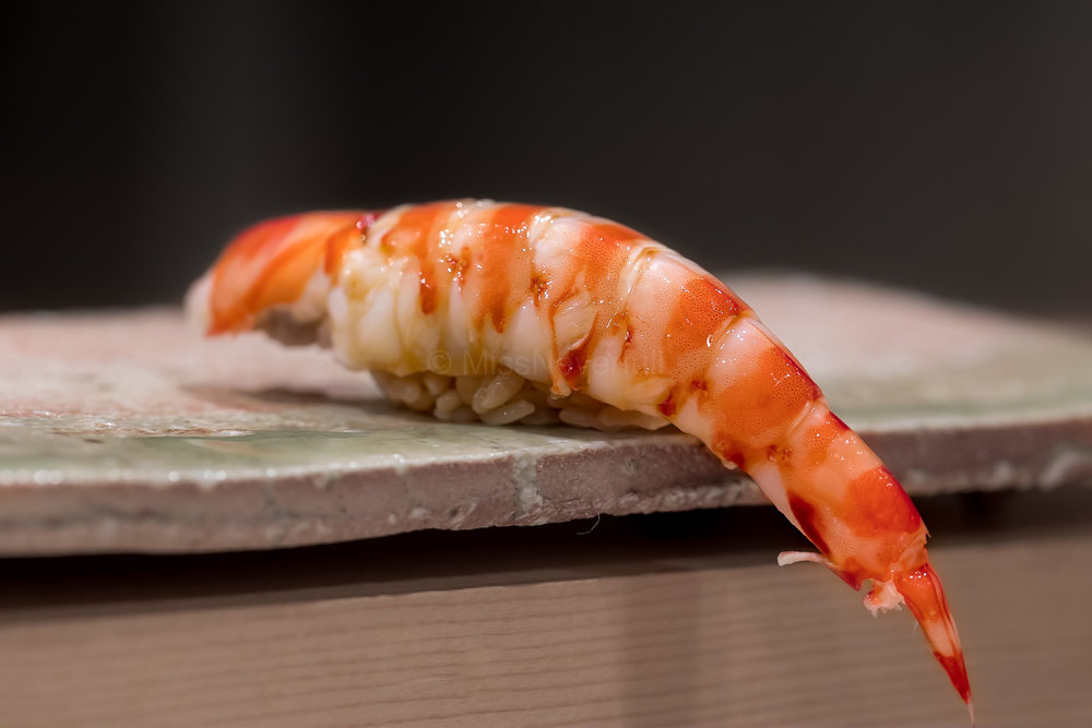 8. Kuruma ebi 車海老 - one of the most famous nigiri from Amamoto on Instagram. As big and marvellous as it looks! I had two!
