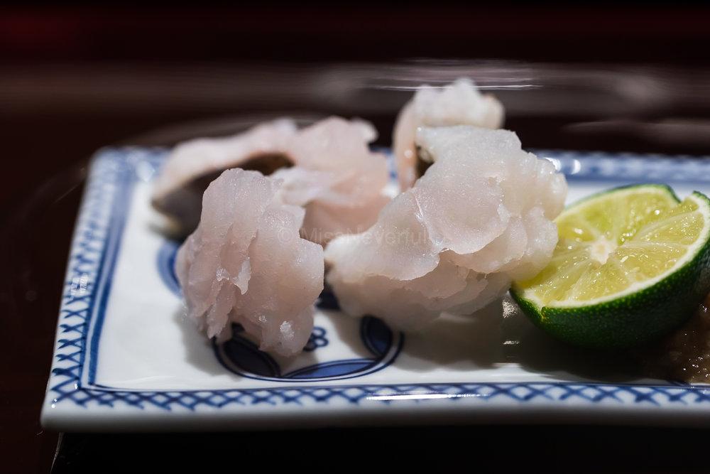 4. Hamo (sea eel) aburi