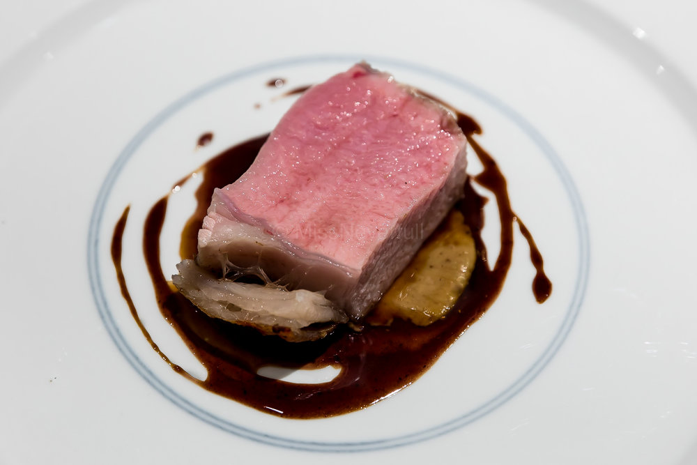 Spring | Grilled French veal and Nameko mushroom sauce